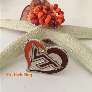 Hokies Ring.  Va. Tech Jewelry. Va. Tech Ring